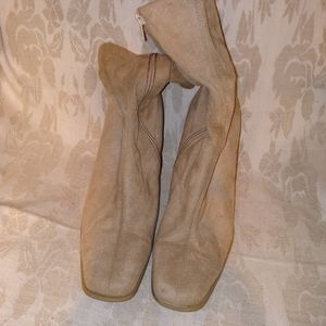 Candie's Faux Suede Ankle Boots Size 8M